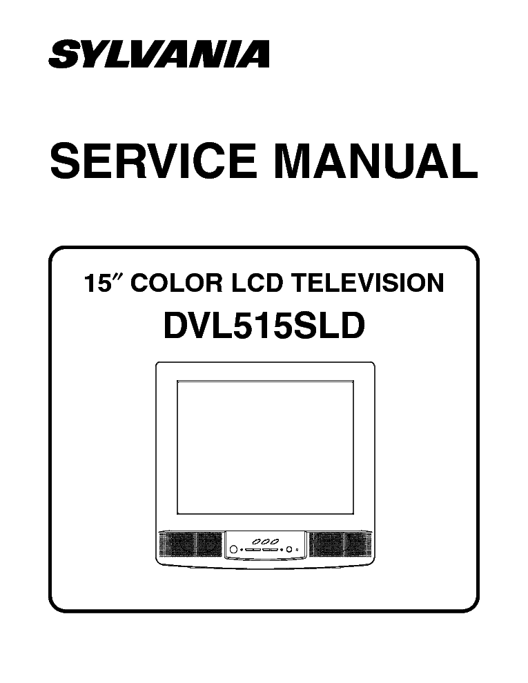 Emerson Tv ewf2004 manual