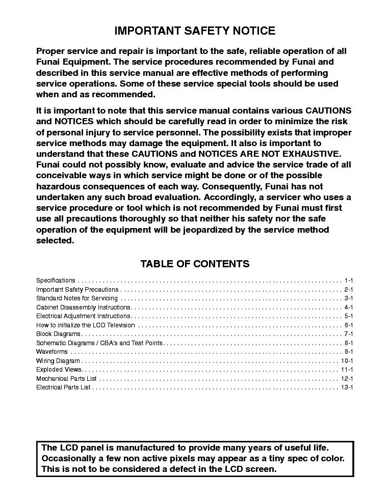 Sylvania Lc195sl9 B Lcd Tv Service Manual Download