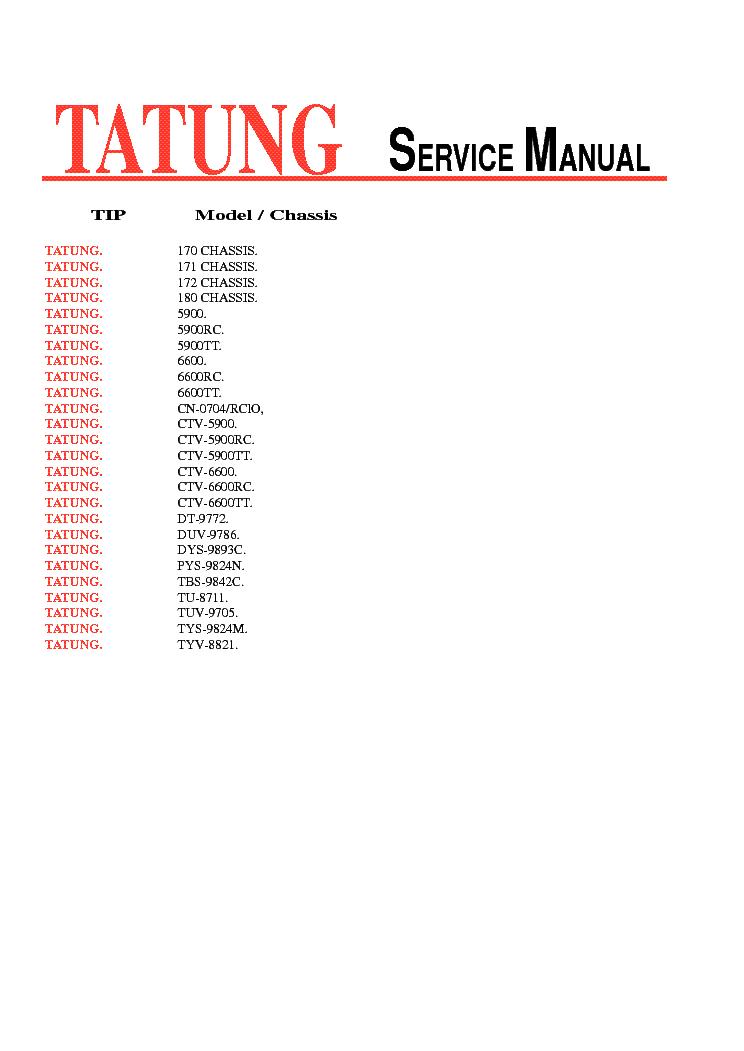 Tatung chassis 170 171 172 ctv 6900 6600 dt 9772 tuv 9705 service tatung chassis 170 171 172 ctv 6900 6600 dt 9772 tuv 9705 service asfbconference2016 Gallery