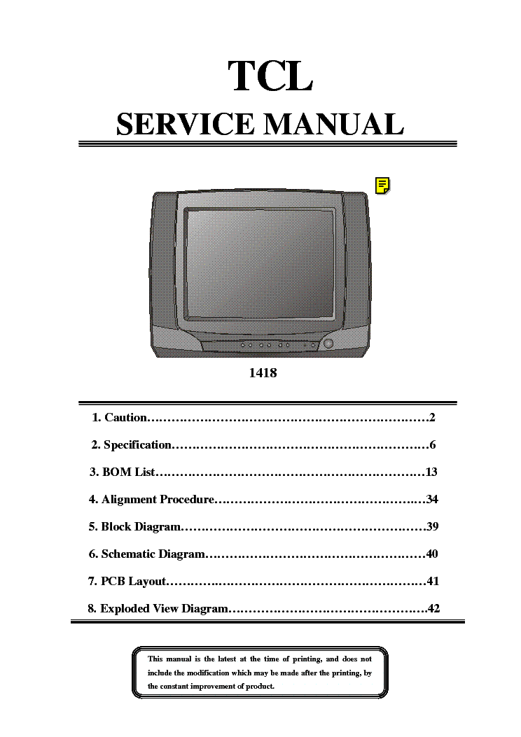 crt tv repair guide pdf