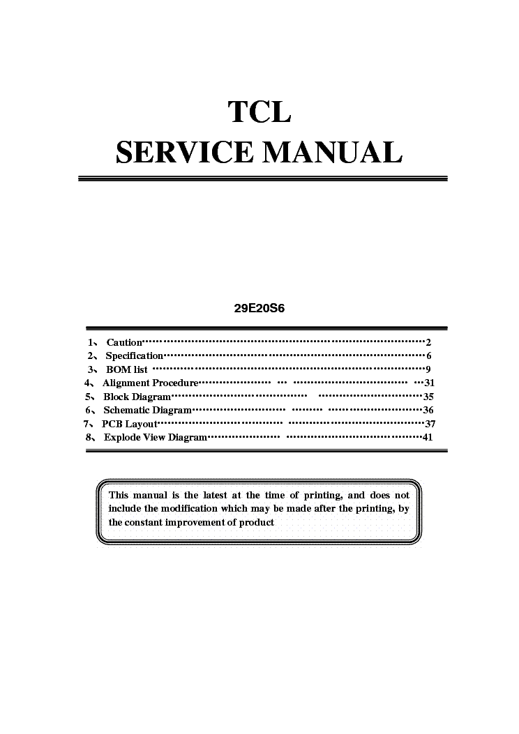 Tcl manual pages