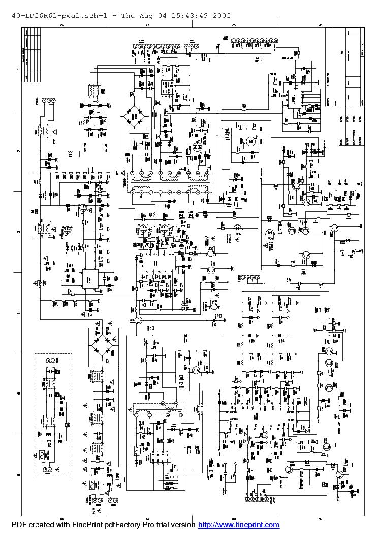 Tcl 40lp56r61 Power Supply Service Manual Download Schematics