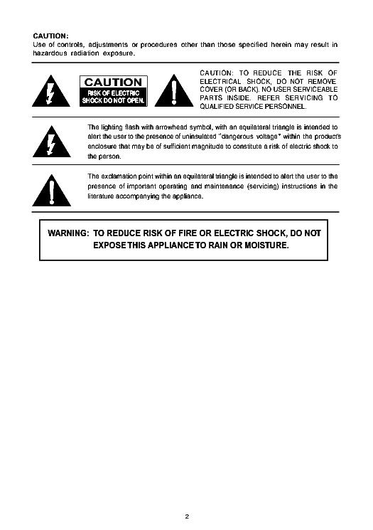Tcl At2127 Crt Tv Sm Service Manual Download  Schematics