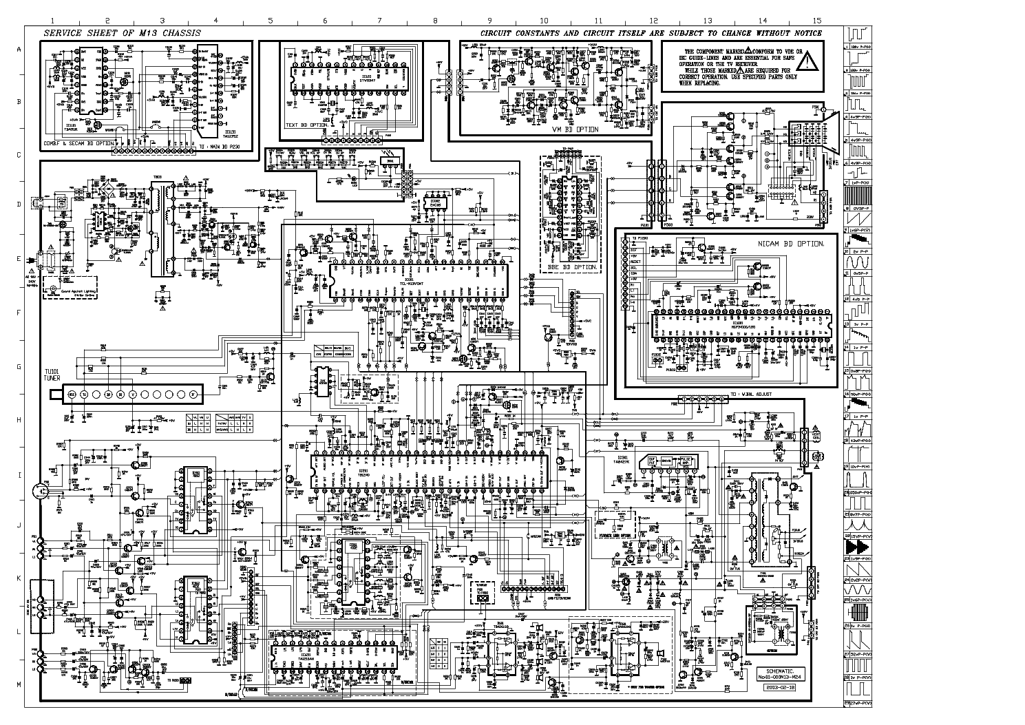 Diagram  Jvc Av N29220 Color Tv Schematic Diagram Manual