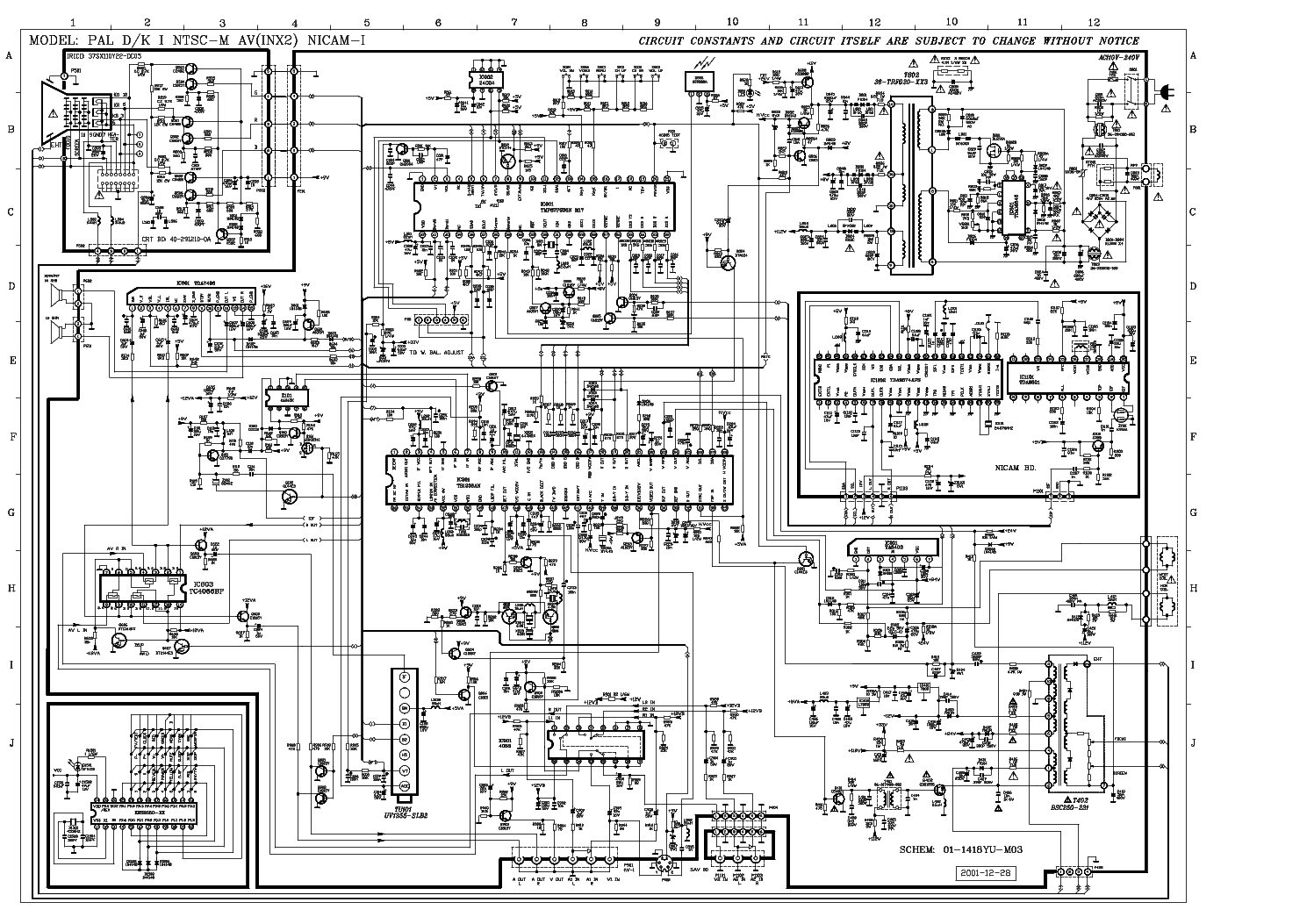 Tcl Chassis M17 Sch Service Manual Download  Schematics