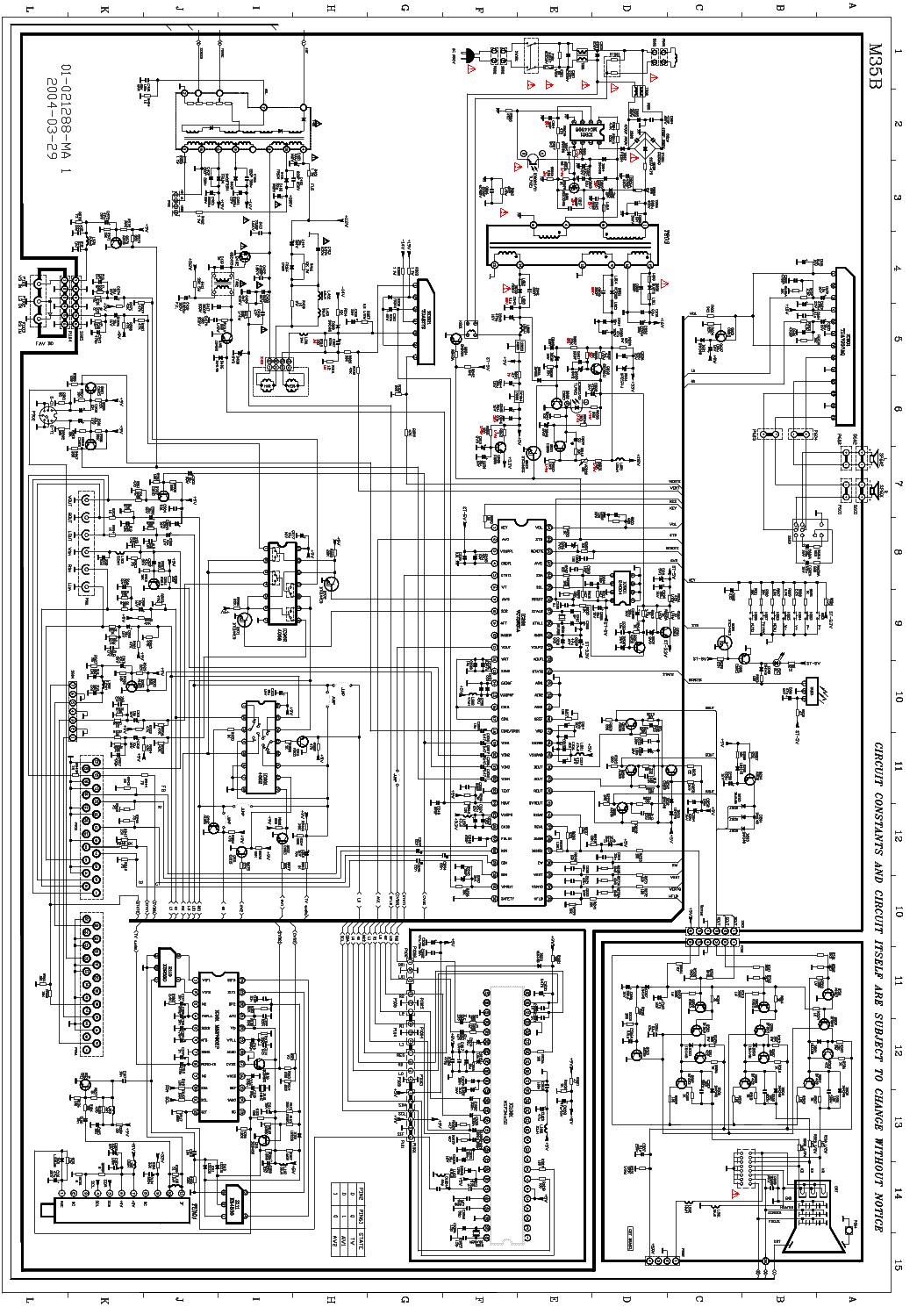 схема на телевизор tcl21288