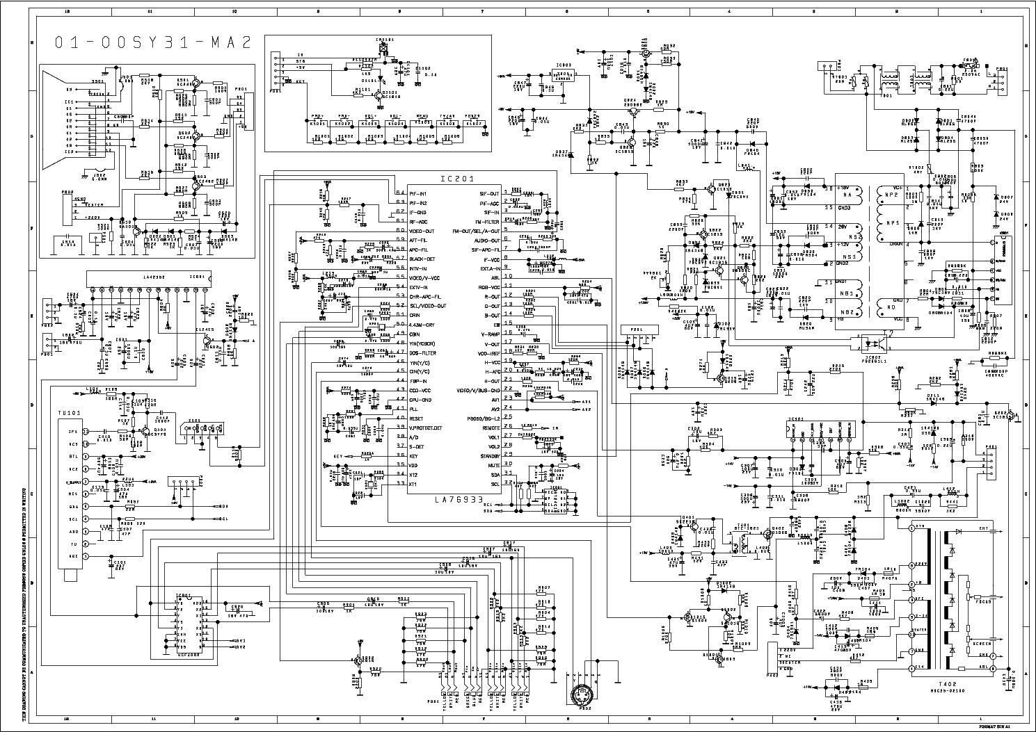 tcl tb73 chassis tmpa8873   stv9302   tea1506p   tea2025b