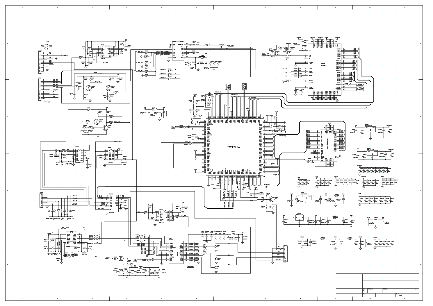 Tcl 21e12 Rca 14f512t Chassis M123sp Sch Service Manual Download  Schematics  Eeprom  Repair