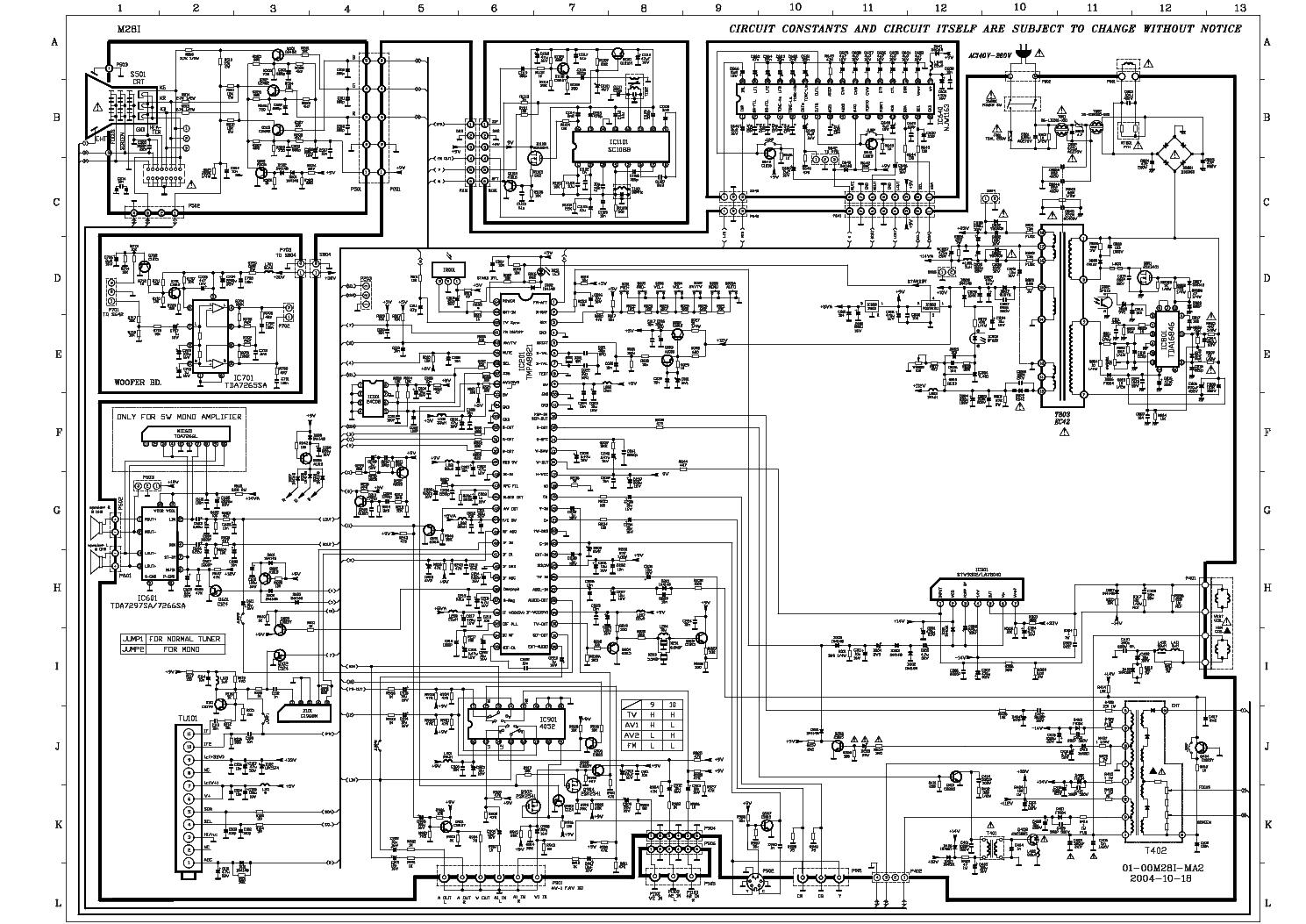 Tcl Tv Circuit Diagram Pdf