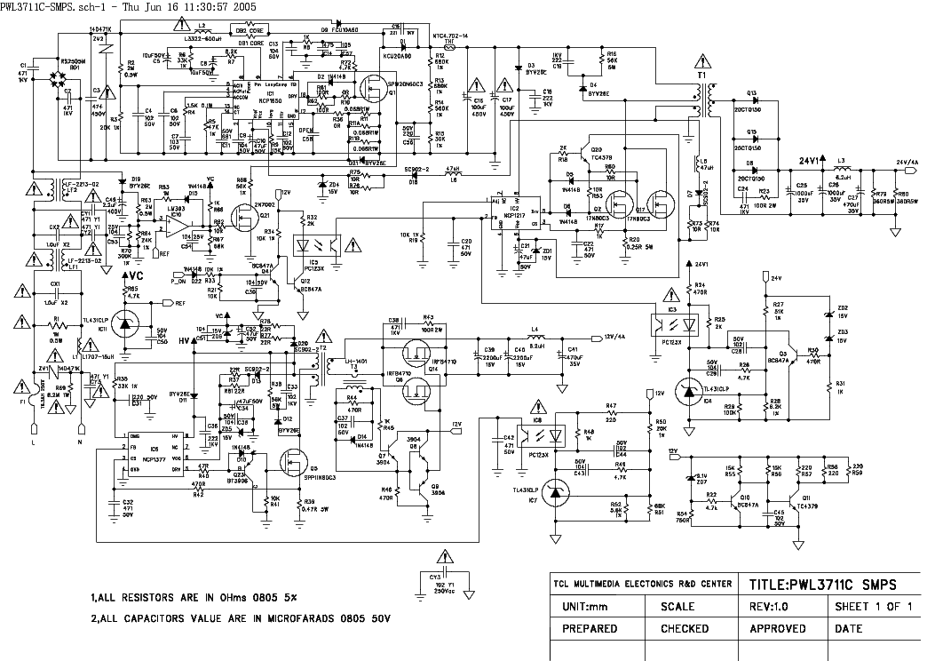 Awesome Smps Service Manual Pictures Inspiration - Wiring Diagram ...