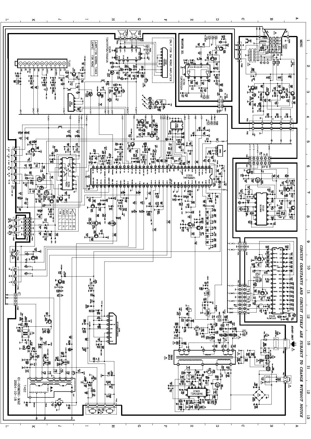 Tcl Tv Circuit Diagram