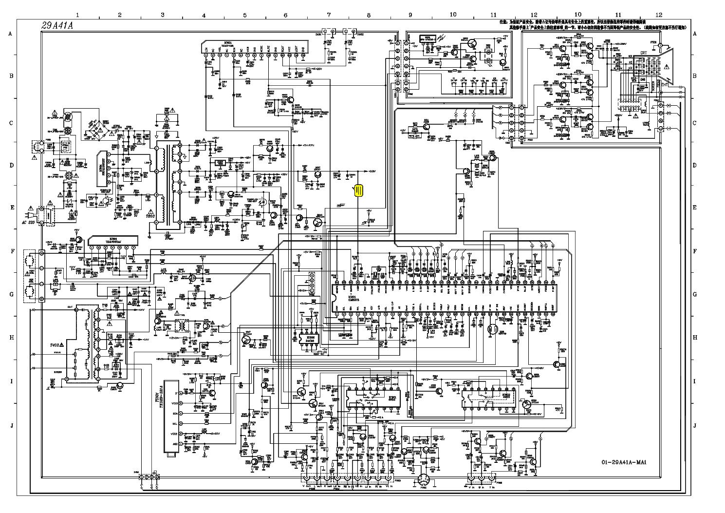 TCL TMPA8823 SCH Service Manual download, schematics, eeprom, repair ...