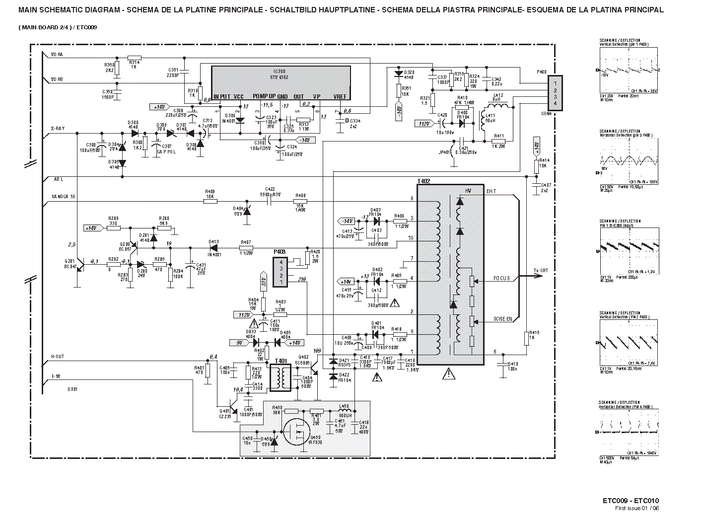 Thomson Etc009 Etc010 Sch Service Manual Download Schematics Eeprom Repair Info For Electronics Experts
