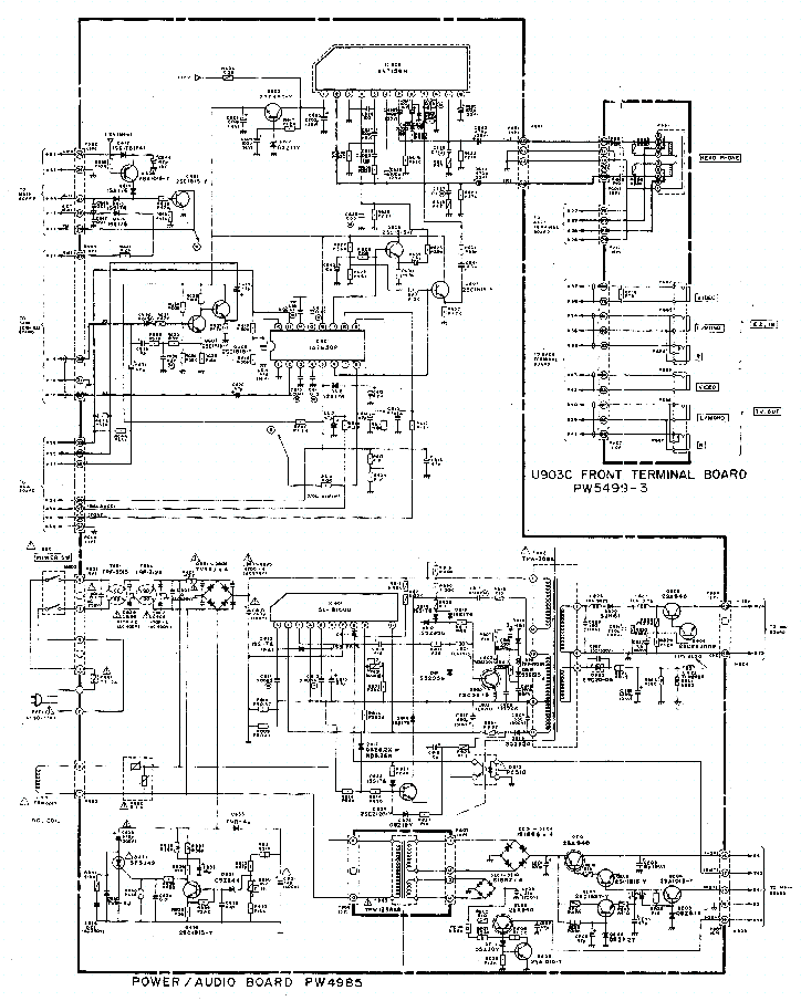 thosiba 2165xr service manual free download  schematics