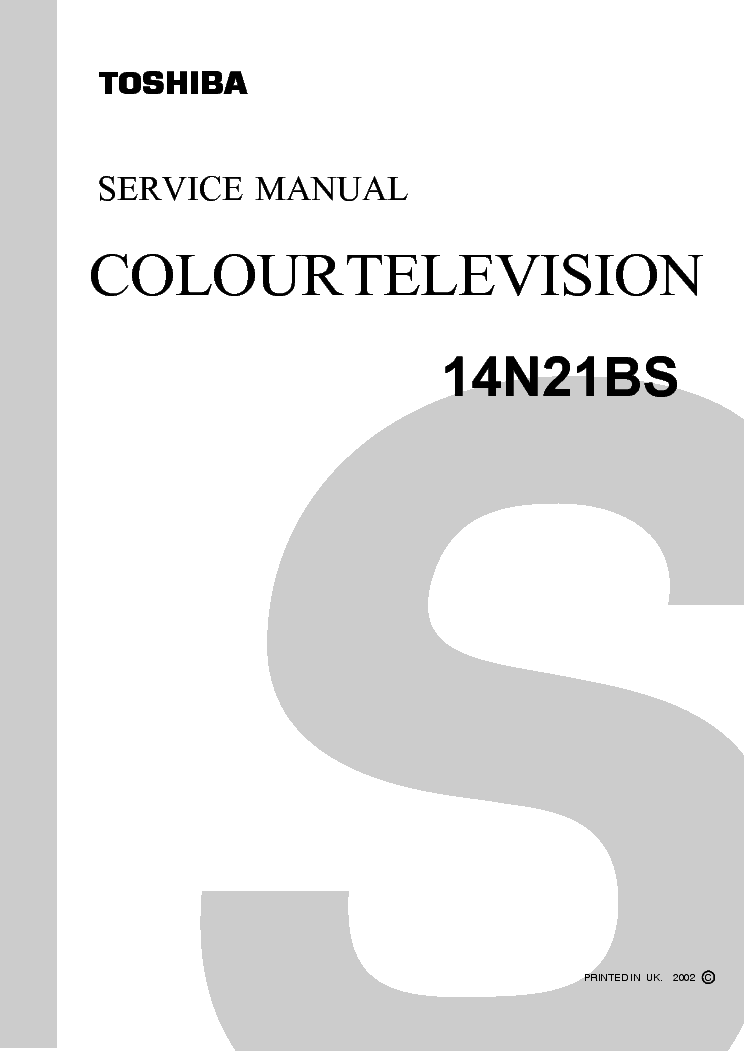 toshiba 42xv550p lcd tv service manual download