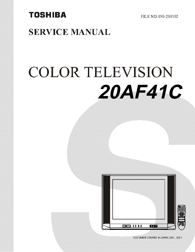 toshiba 20 af 41 c service manual download schematics eeprom rh elektrotanya com Toshiba Parts Manuals Toshiba Satellite Service Manual