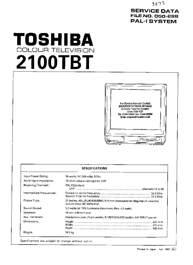 toshiba 56hm195 62hm195 72hm195 sm 1 service manual download rh elektrotanya com Toshiba DLP TV 56 Inch Toshiba