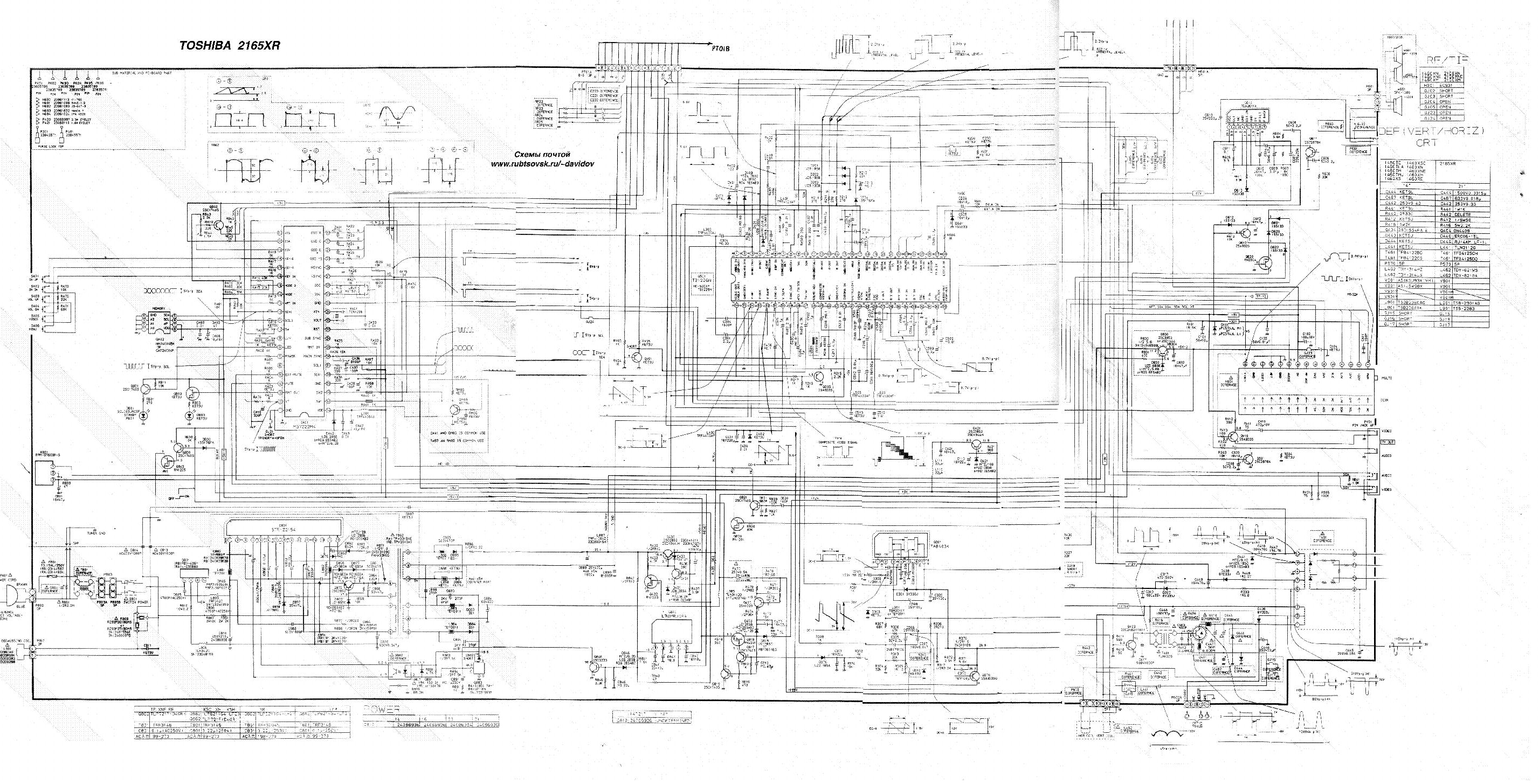 toshiba 51hc85 57hc85 65hc15 65hc85 service manual