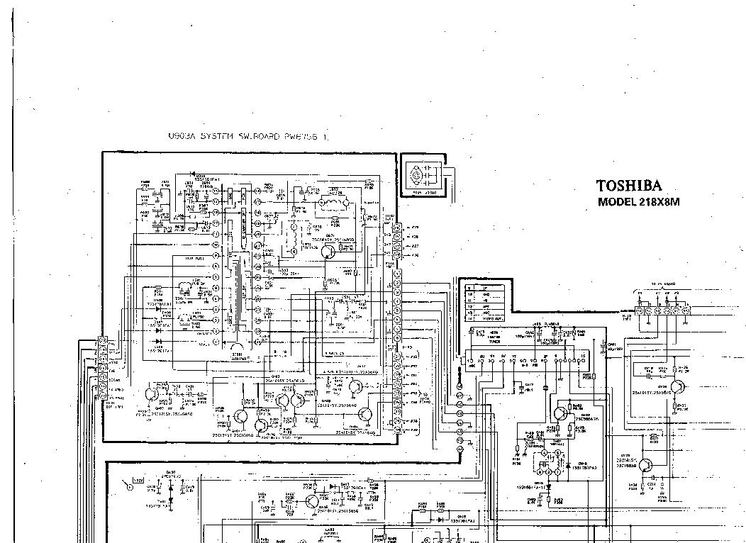 toshiba 29a3e service manual free download  schematics