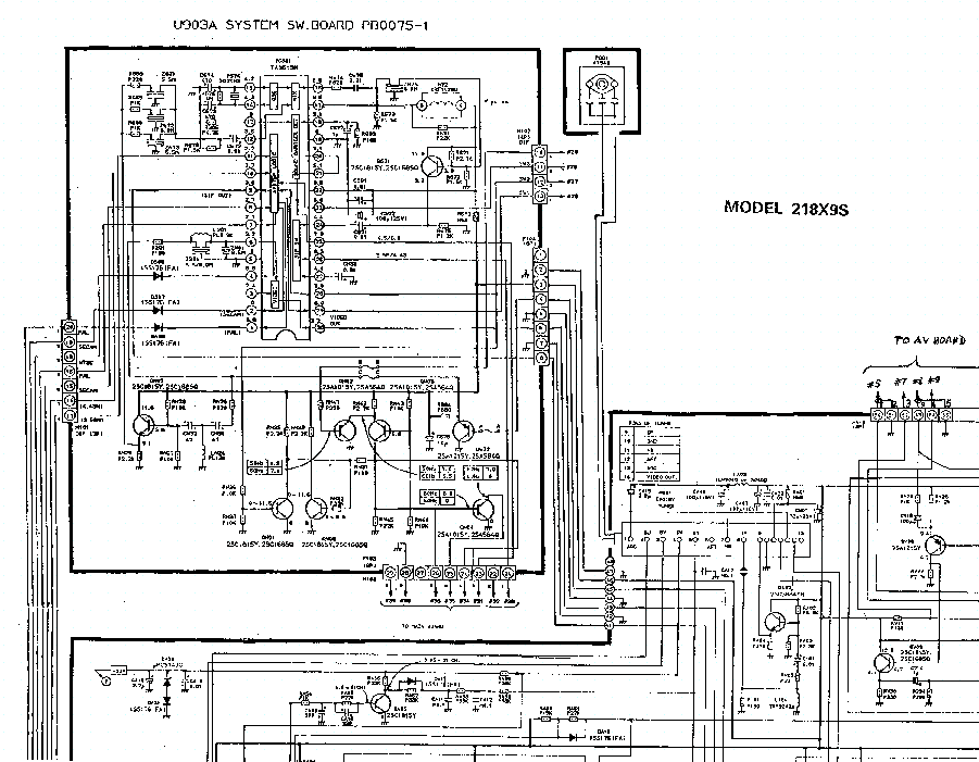 Toshiba 218x9 Tv D Service Manual Download  Schematics