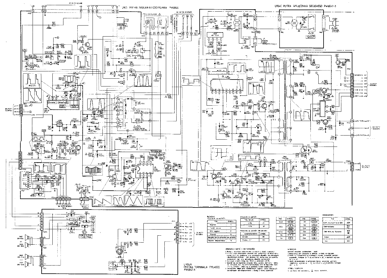 toshiba 285d8d sch service manual download  schematics  eeprom  repair info for electronics experts