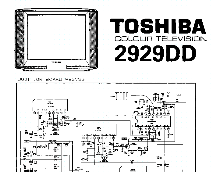toshiba 2929dd tv d service manual download schematics eeprom rh elektrotanya com Toshiba 32 Inch TV Toshiba Laptops