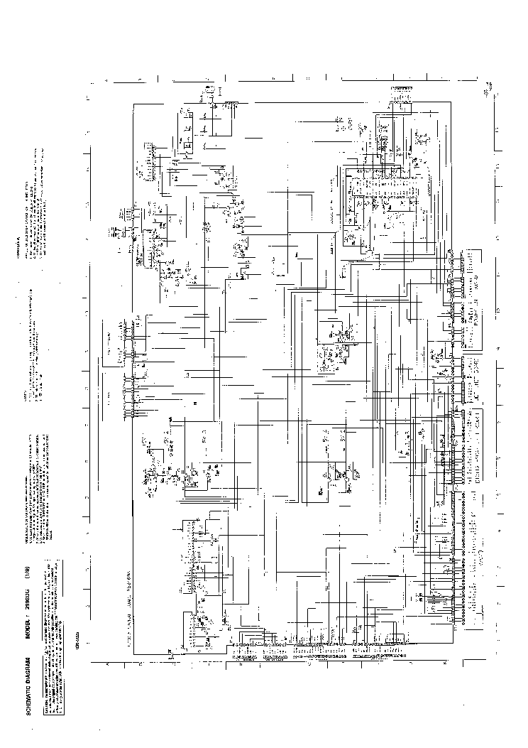 toshiba 2998dg tv d service manual download  schematics