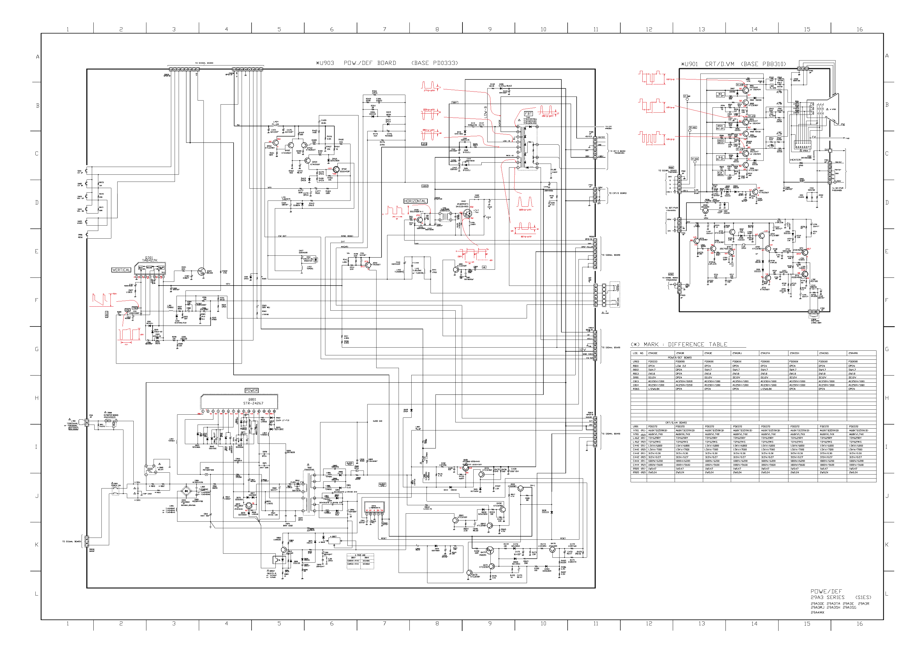 Toshiba 32hfx73 Circuit Diagram 1 Page Preview - Wiring Diagram Database