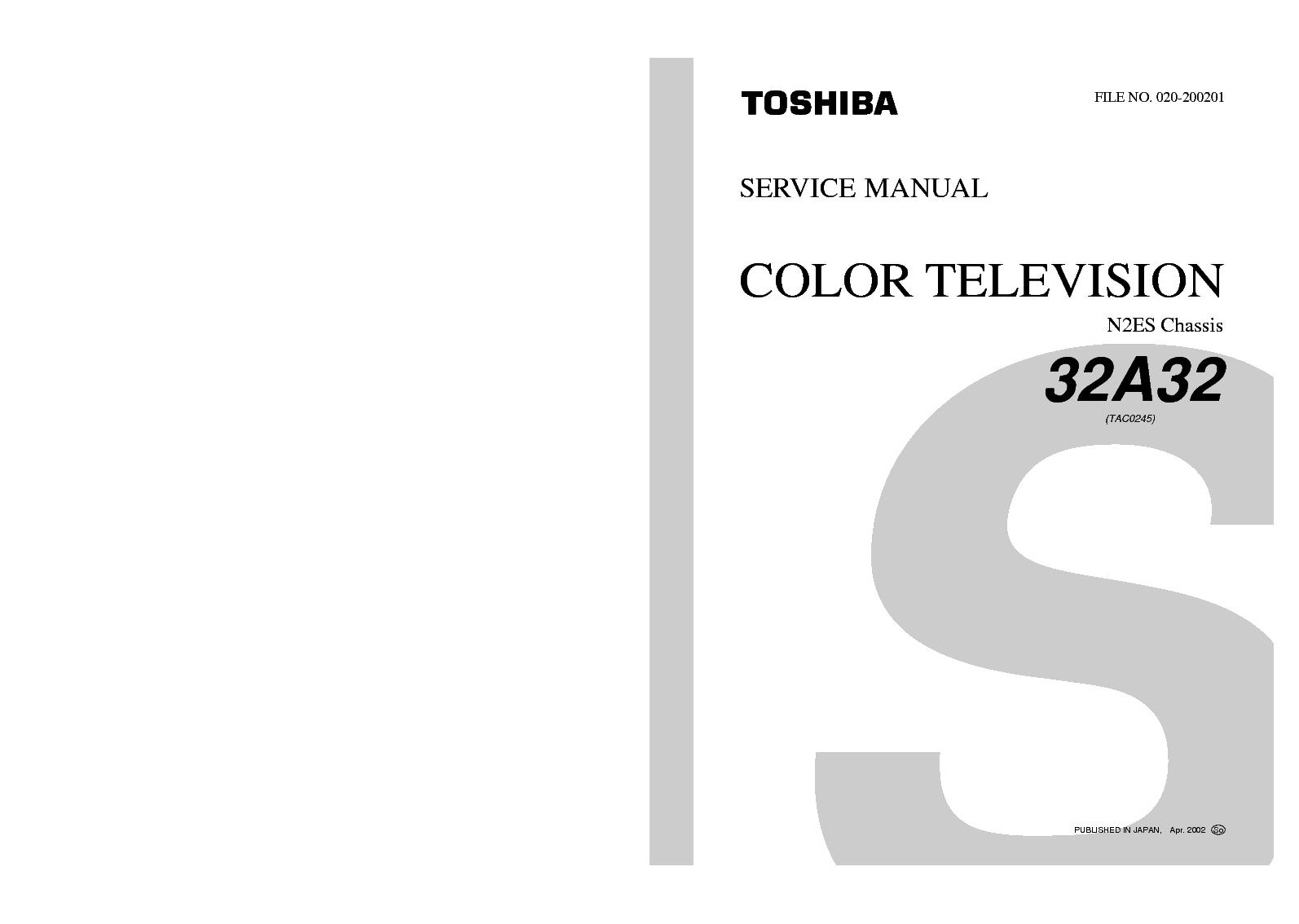 TOSHIBA 32A32