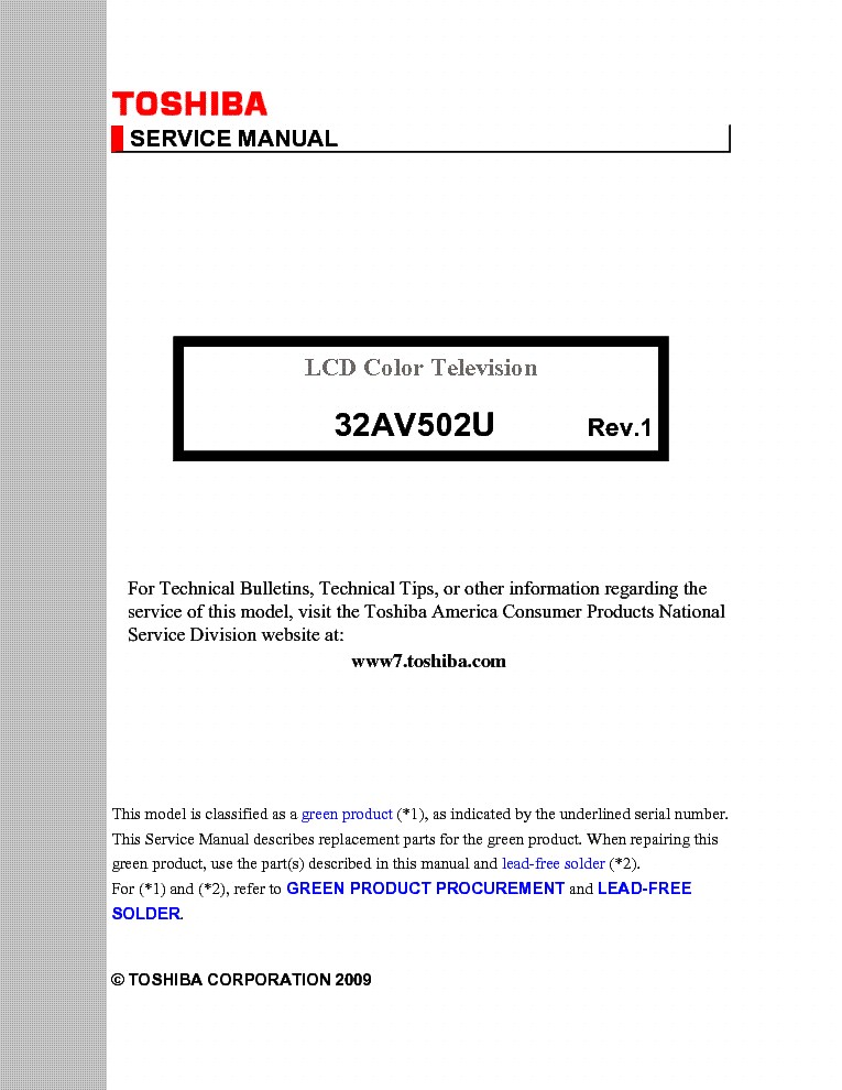 toshiba 32av502u service manual download schematics eeprom repair rh elektrotanya com toshiba 32av502u manual pdf Toshiba 32 Inch Flat Screen TV Base Mount