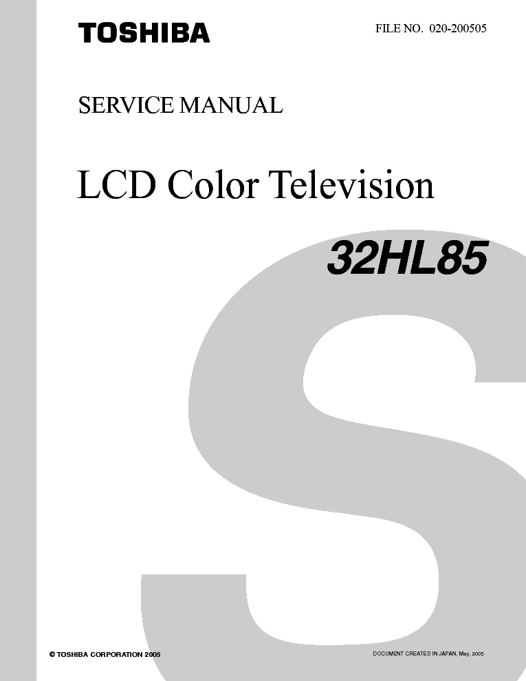 toshiba 20 af 41 c service manual download schematics eeprom rh elektrotanya com For Toshiba TV Manuals Toshiba Repair Manual