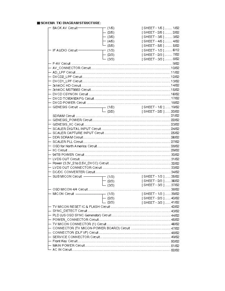 Toshiba 46hm84 52hm84 62hm84 Service Manual Download