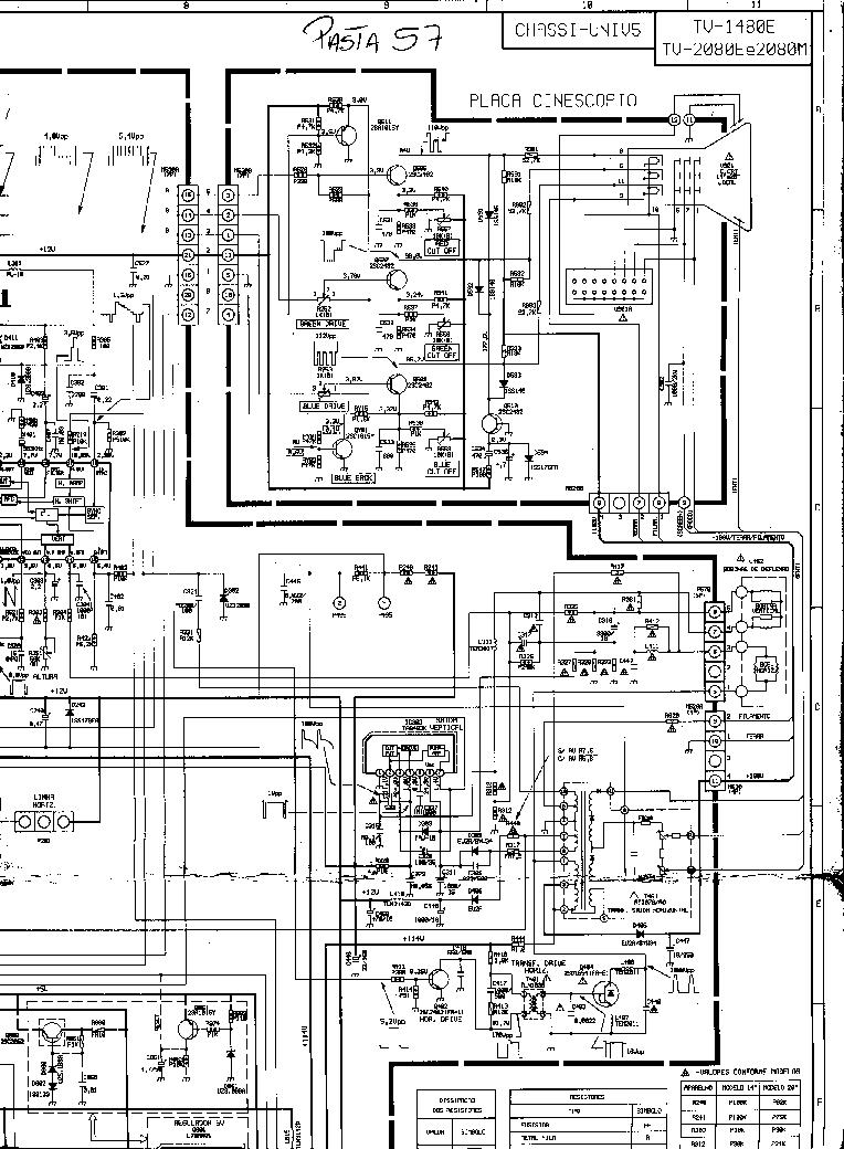 toshiba tv1480e sch service manual download  schematics