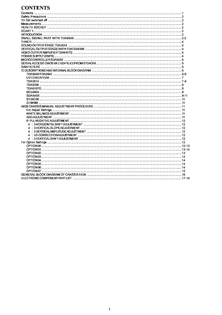 Vestel 17PW06 Схема блока