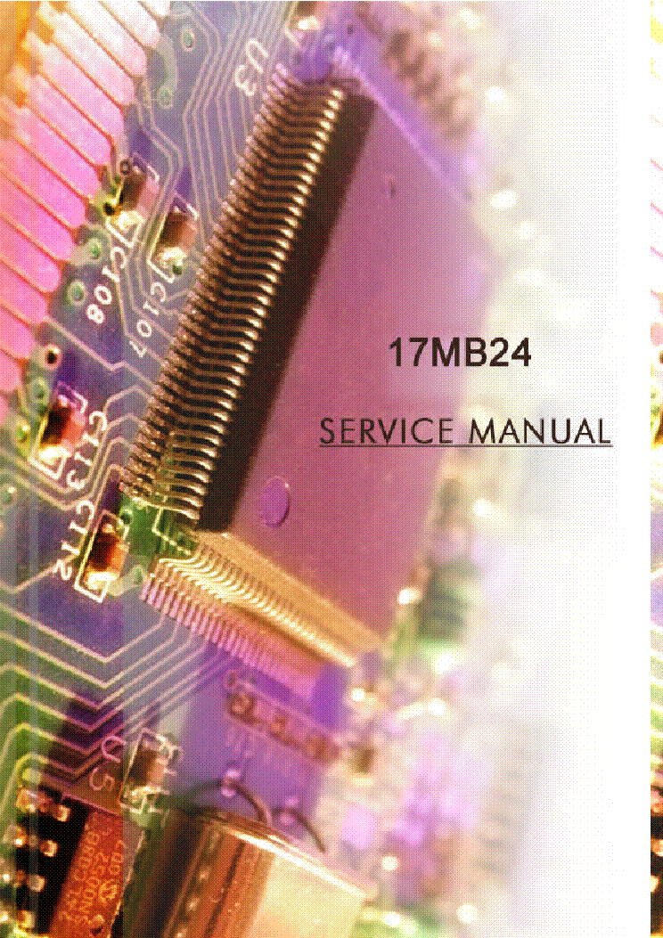 VESTEL 17MB24 service manual