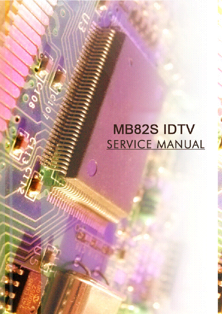VESTEL 17MB82S IDTV CHASSIS SM service manual (1st page)