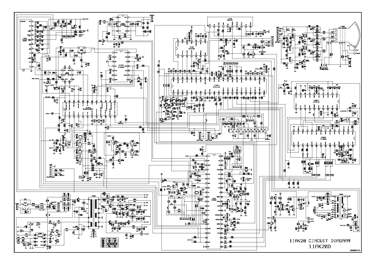 Схема телевизора микромакс шасси 11ак20