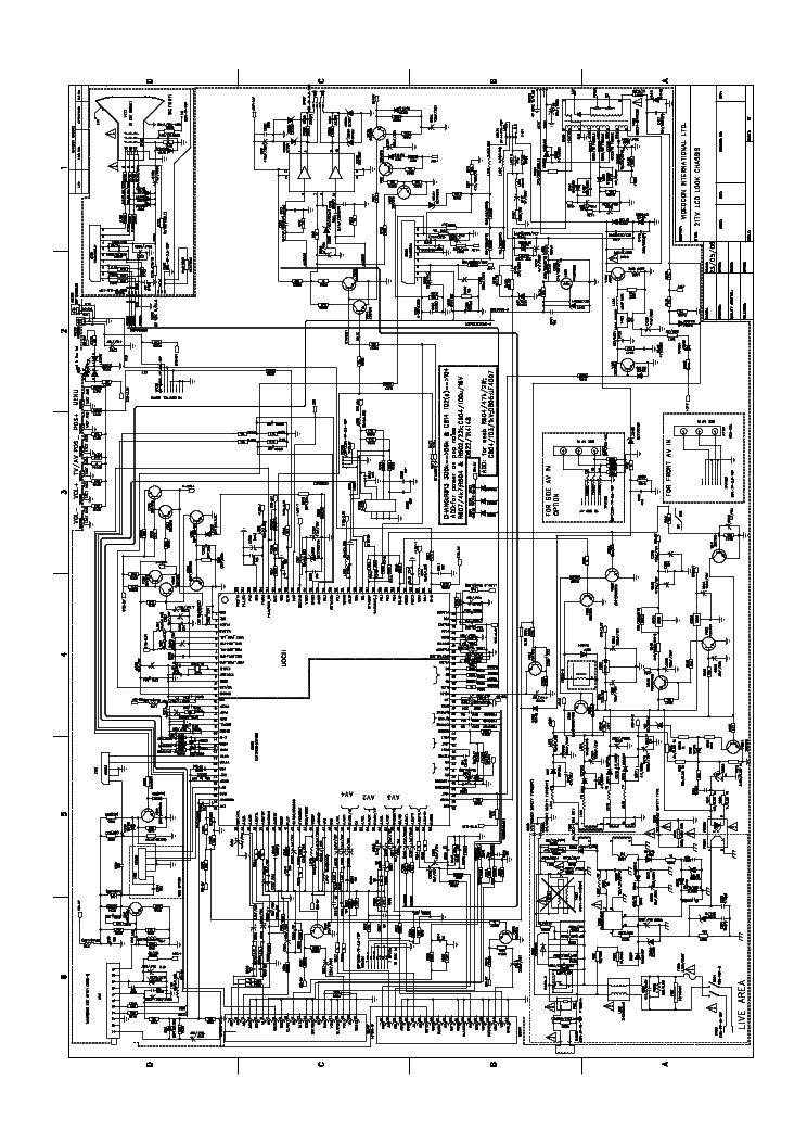 Videocon Tv Circuit Diagram Model No