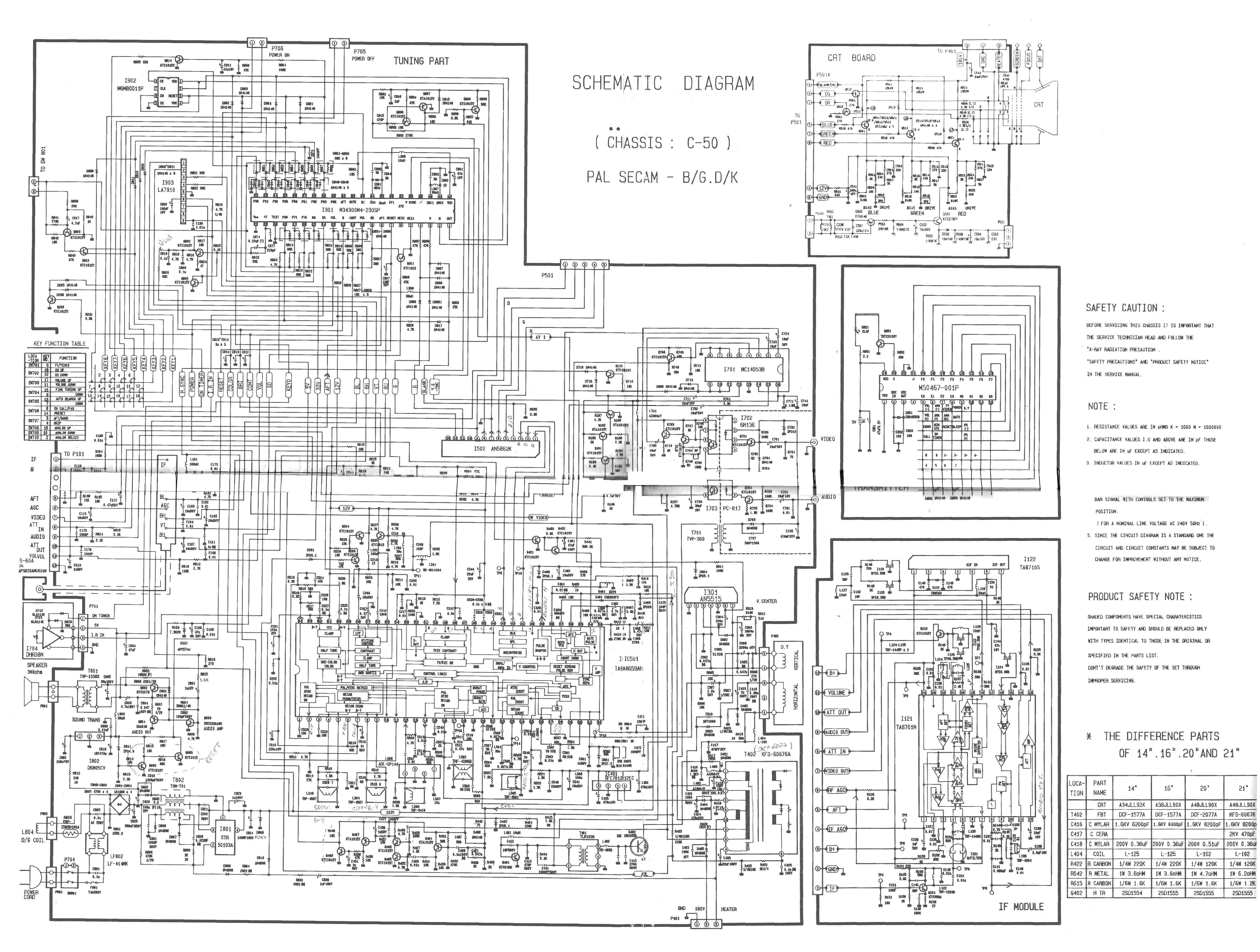 Схемы телевизоров своими руками 61