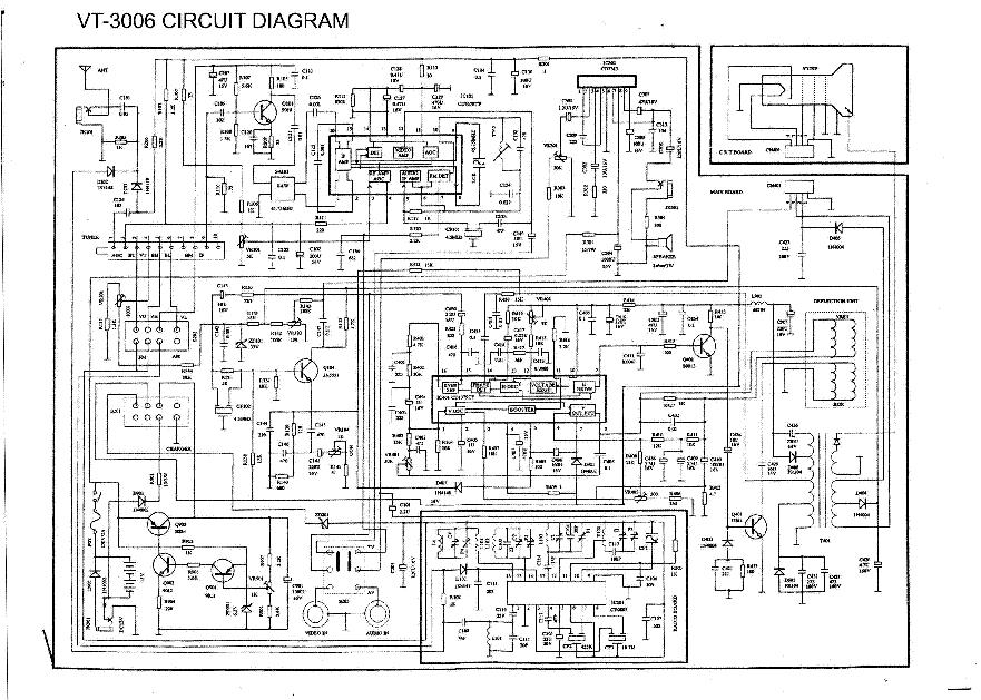 vitek vt3007 sch service manual download  schematics