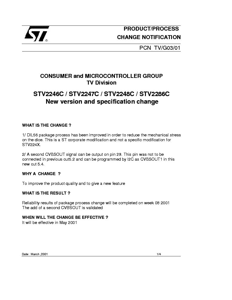 STV224XC CSEREINFO service manual (1st page)