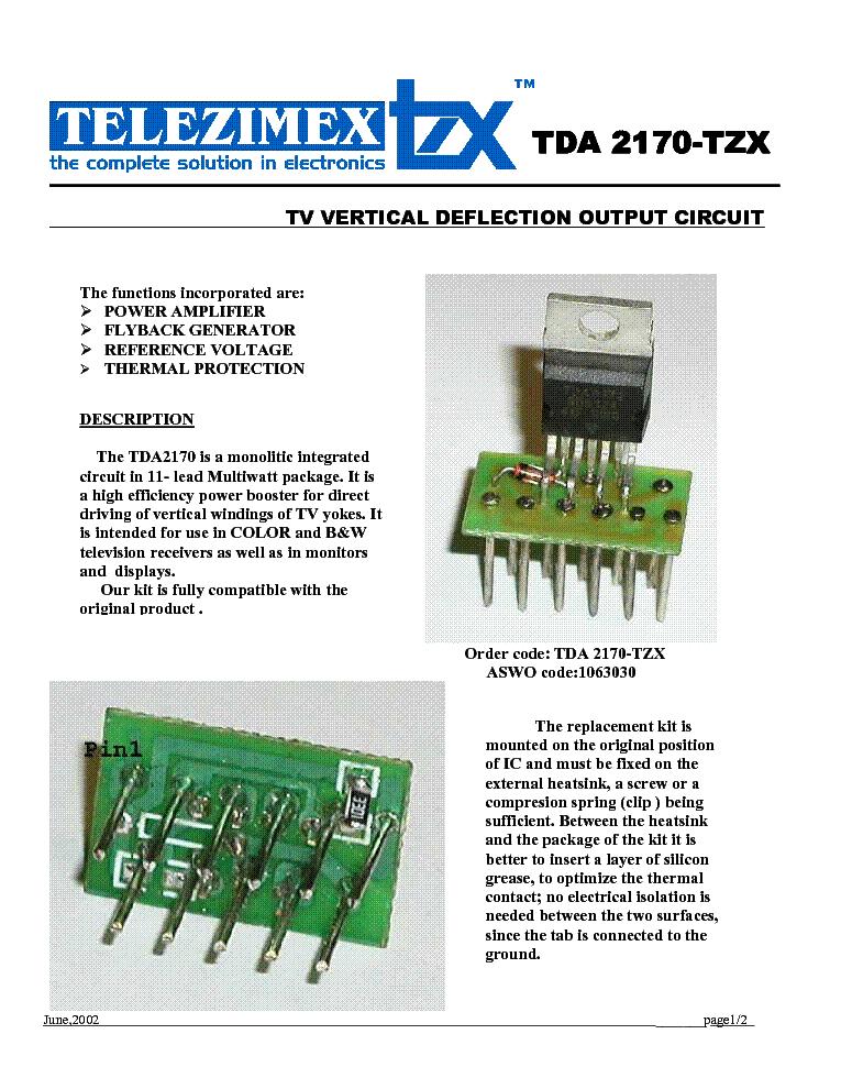 Tda8170