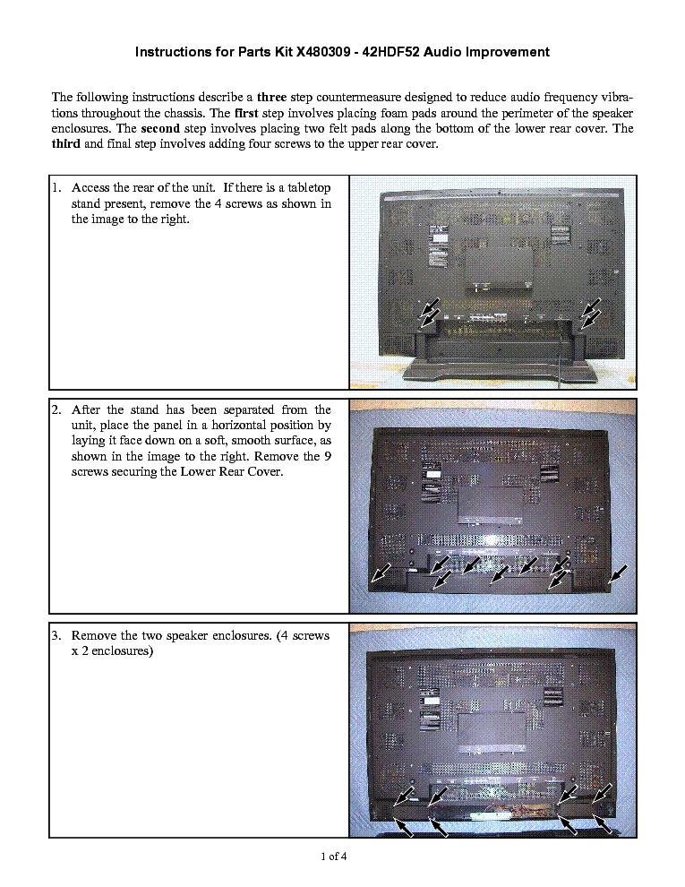 hitachi 42hdf52 x480309 instructions service manual download rh elektrotanya com