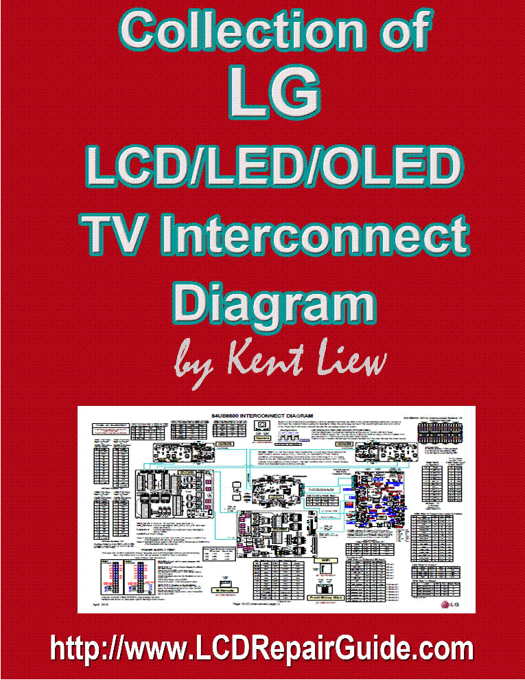 LG COLLECTION OF LCD LED OLED TV INTERCONNECT DIAGRAMS service manual (1st page)
