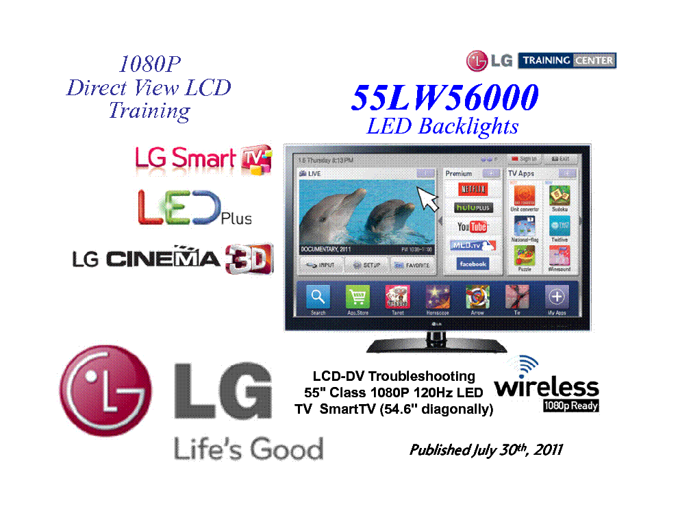 lg 55lw5600 3d led tv training service manual download schematics rh elektrotanya com lg lcd tv service manual free download lg led lcd tv owner's manual