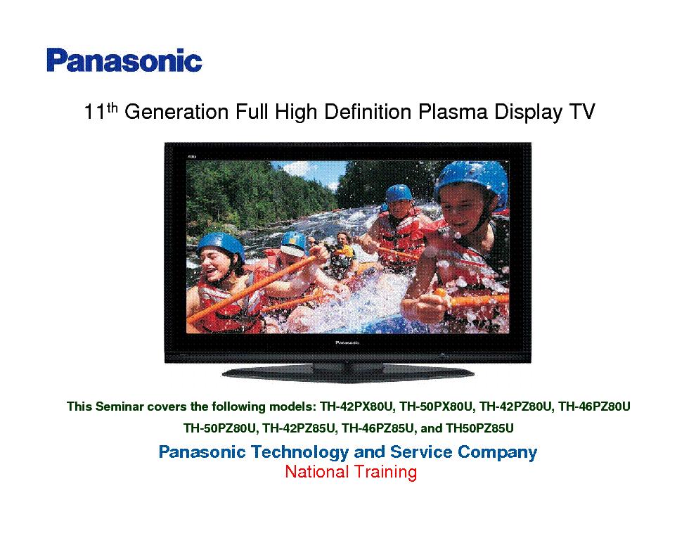 Panasonic th 42pa20 service manual.
