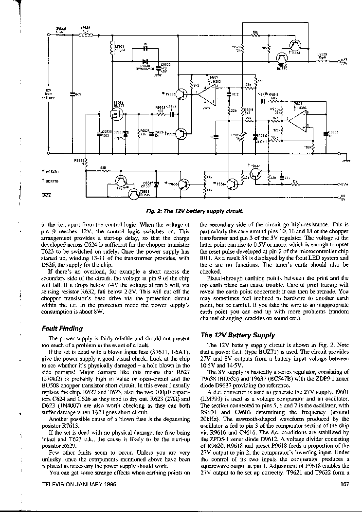 PHILIPS 10CX1120 SERVICE-INFO service manual (2nd page)