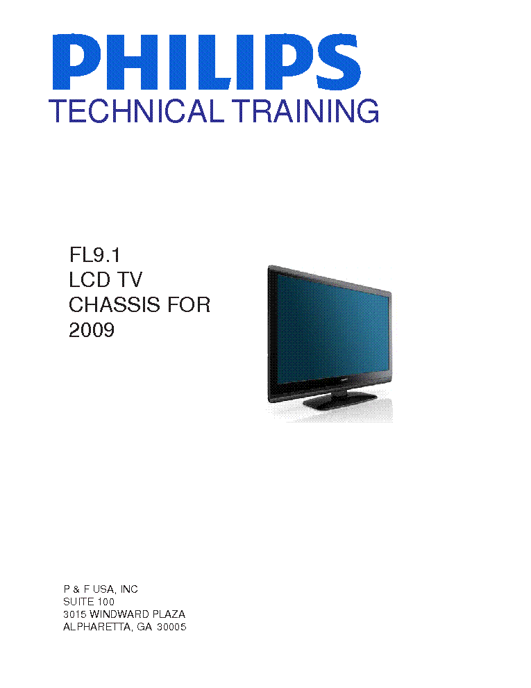 PHILIPS FUNAI CHASSIS FL9.1 TRAINING 030410 service manual (1st page)