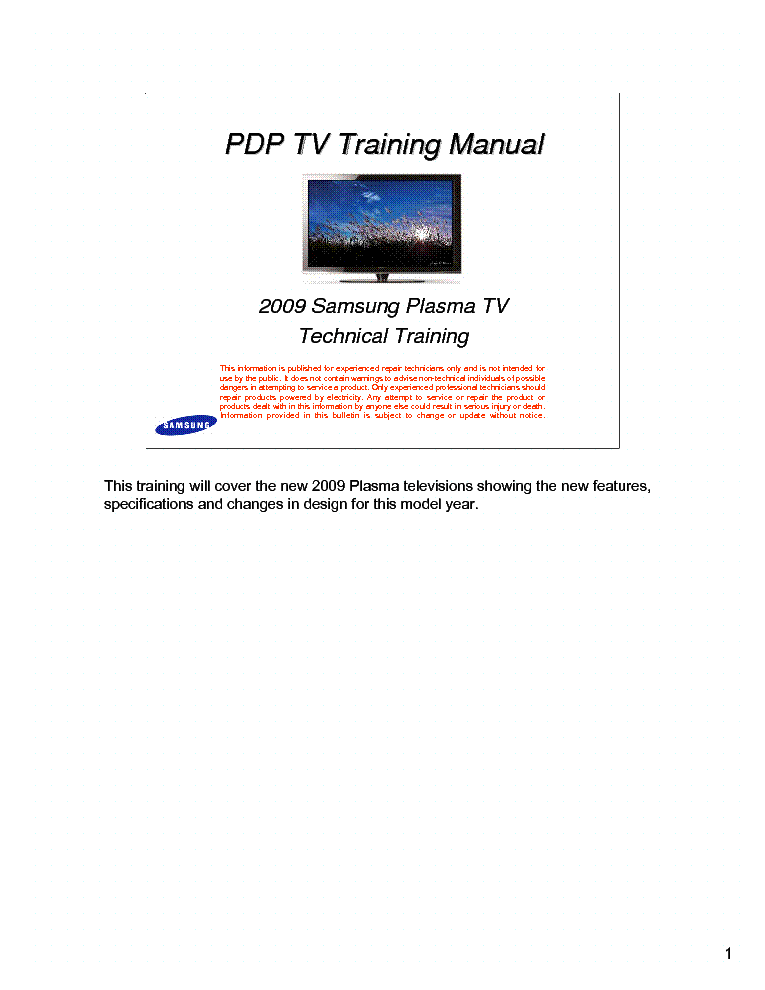 samsung 2009 pdp plasma training manual service manual download rh elektrotanya com samsung plasma service manual free download samsung plasma service manual free download