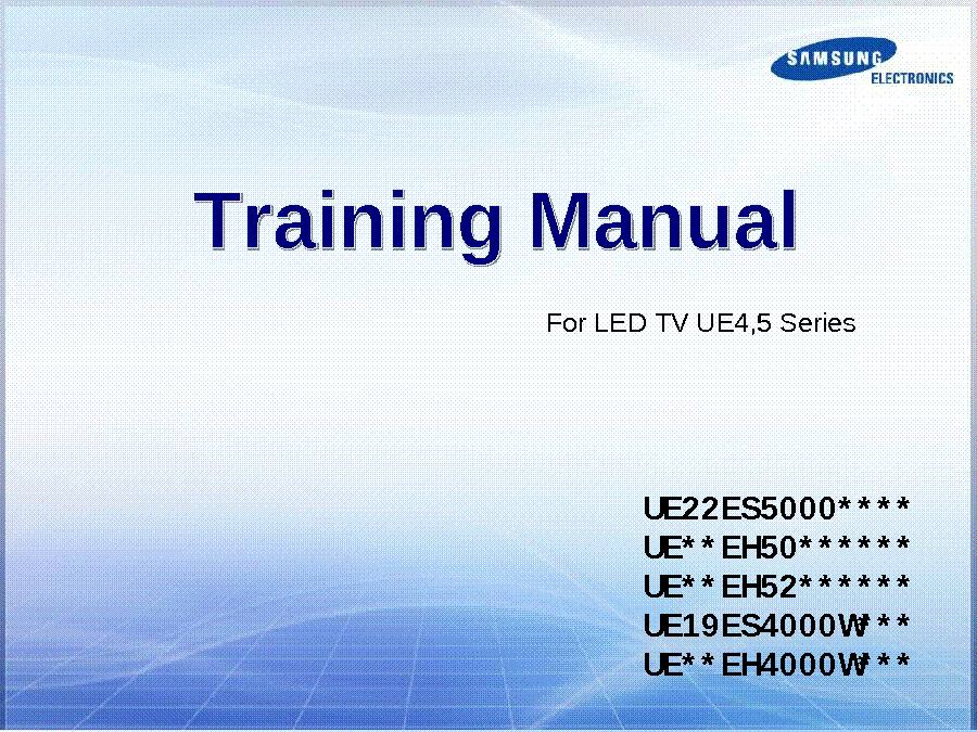 Samsung ue22es5000 инструкция